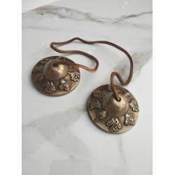 CIMBALI in bronzo strumento...